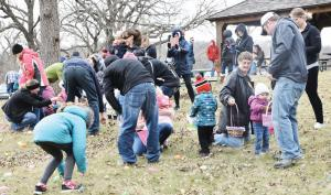 Easter Egg Hunt at Lake of Three Fires